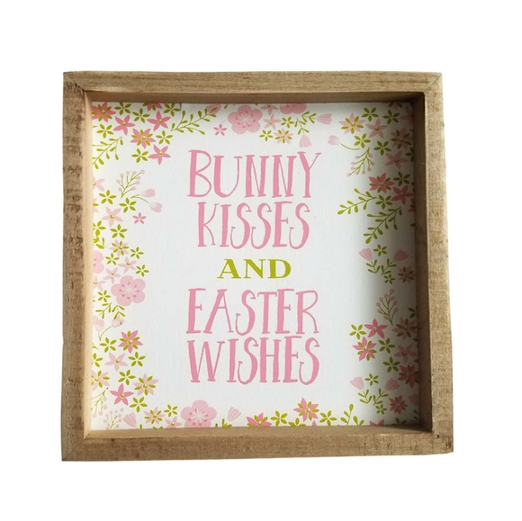 Three Girls & a Wish Other - 🆕🥚Three Girls & a Wish Bunny Easter Box Sign